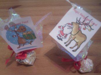 preschool christmas crafts magic reindeer food