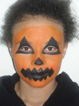 How To Paint A Clown Face On A Pumpkin