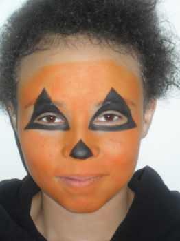 pumpkin face painting