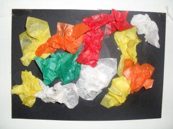 Tissue picture craft